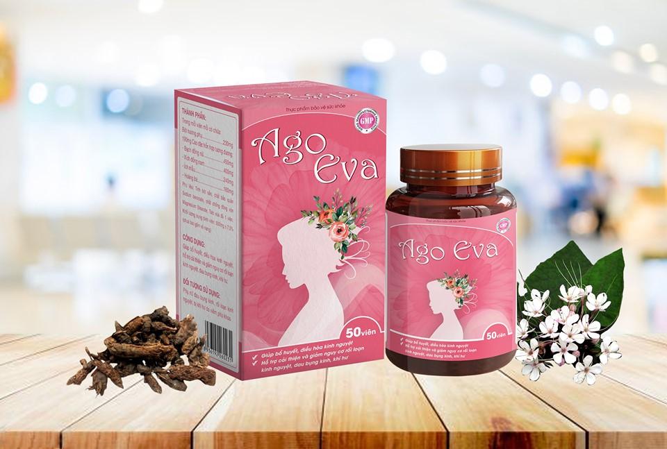 Ago Eva - giải pháp hiệu quả cho em bị rối loạn kinh nguyệt, đau bụng kinh, viêm nhiệm phụ khoa